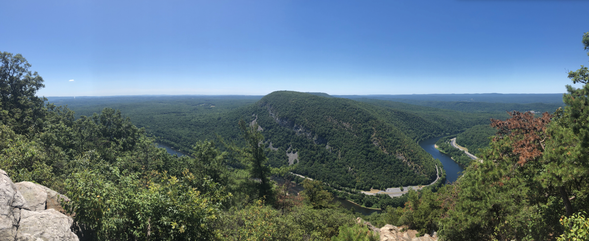 Delaware Water Gap, Mt. Tammany, Mt. Minsi, Hiking