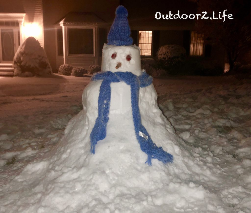 Outdoorzlife, snowman