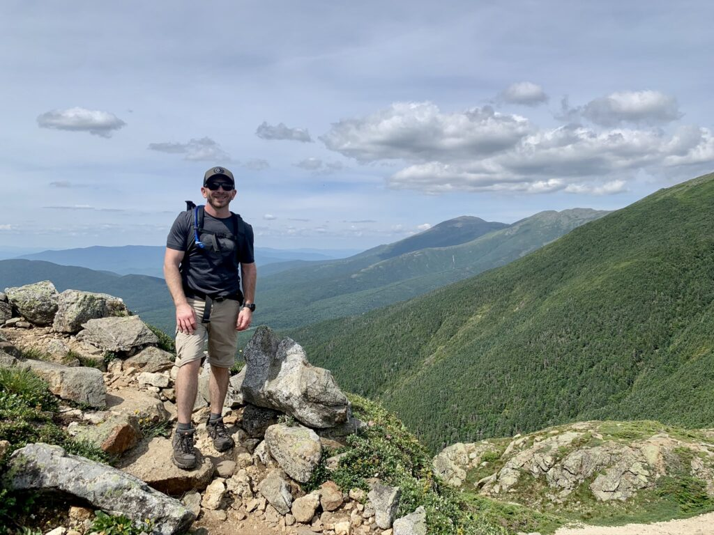 Nice view on the Presidential Traverse
