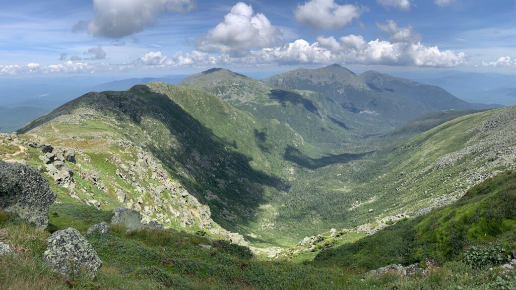 The Presidential Traverse, White Mountains
