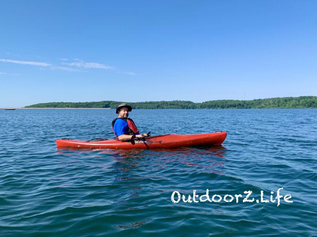 Buying your first kayak, sit in kayak